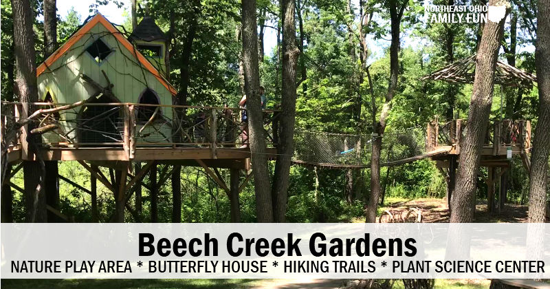 Beech Creek Garden – Nature Playground, Butterflies, Hiking and More!
