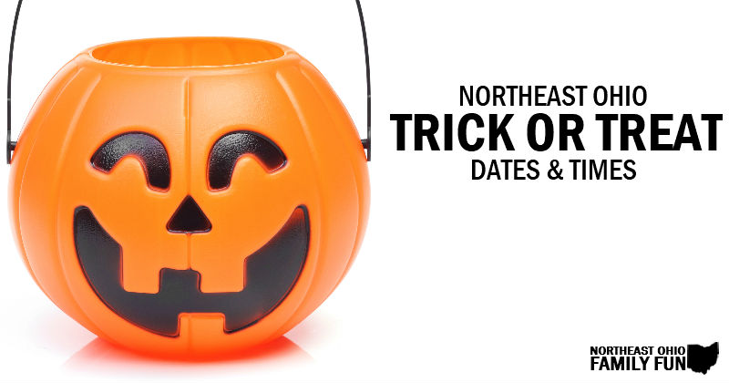 Trick or Treat 2019 – Dates, Times and Locations in Northeast Ohio