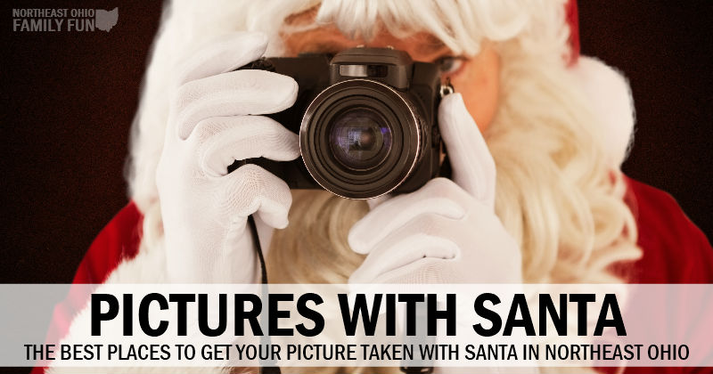 25+ Of The Best Places To Take Pictures With Santa In Northeast Ohio {2018}