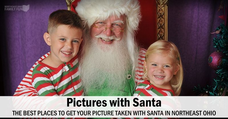 Pictures with Santa in Northeast Ohio