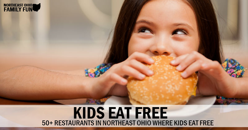 Kids Eat FREE – Over 50 Restaurants with FREE Kids Meals