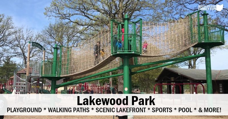 Lakewood Park – Stunning Lakefront Park with so many Things to Do