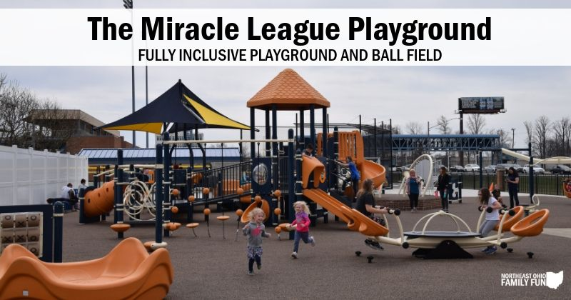 Miracle League Inclusive Playground Eastlake Ohio