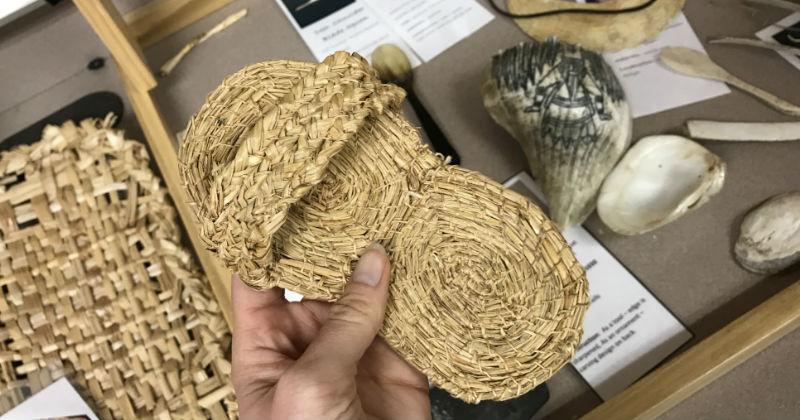 Replica Handwoven Sandal Fort Ancient Ohio