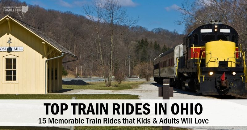 15 Train Rides in Ohio that Kids & Adults will Love