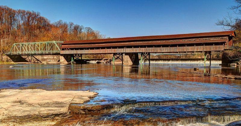 Harpersfield Covered Bridge, Geneva Ohio