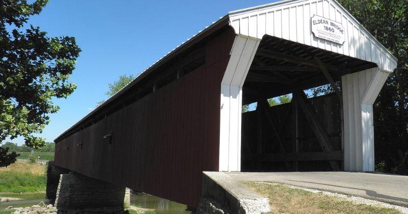 Eldean Covered Bridge, Troy Ohio