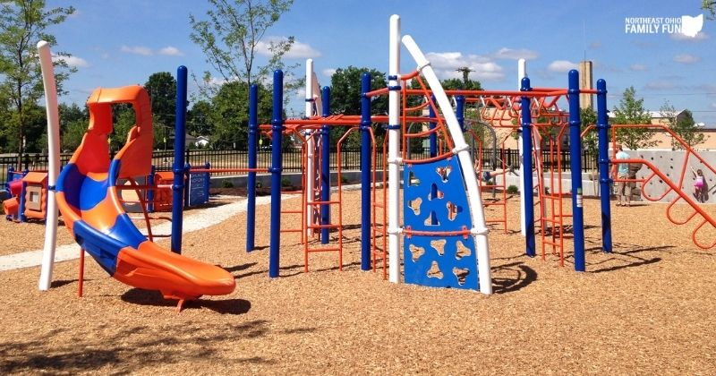 City of Green Central Park – Playground, Splash Pad, Walking Trail, and More!