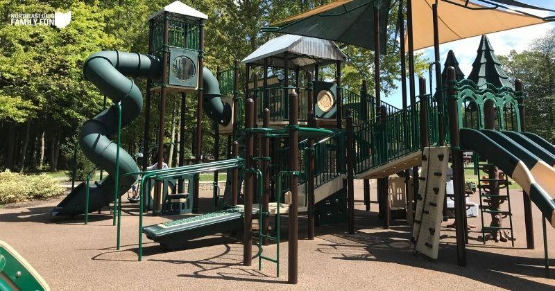 Orange Village Park – Unique Playground, Paved Trails, Dog Park & More!