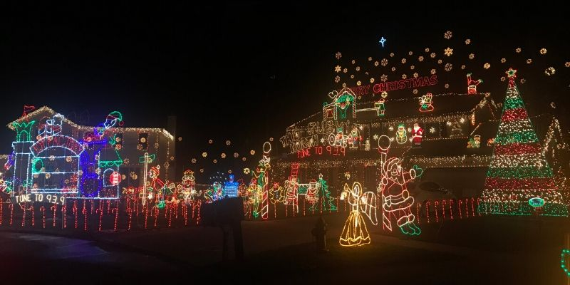 Sebo Christmas Lights 2020 Best local Christmas Light Displays   You Must See this Year!