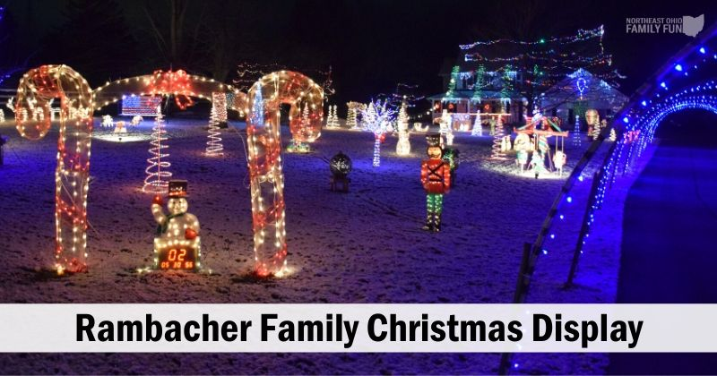 Rambacher Family Christmas Display in Northfield