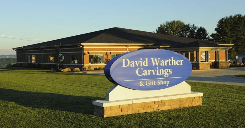 David Warther Carvings, Things to Do in Amish Country Ohio