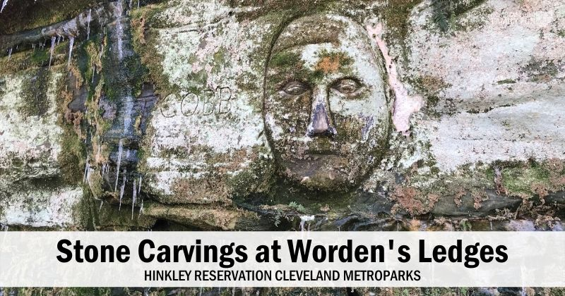 Worden's Ledges Stone Carvings Cleveland Ohio