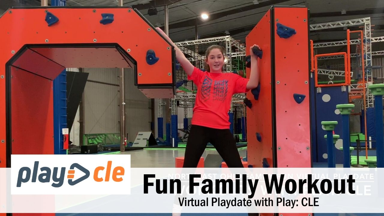 Family Workout with Play: CLE – Fun Exercise for Kids at Home
