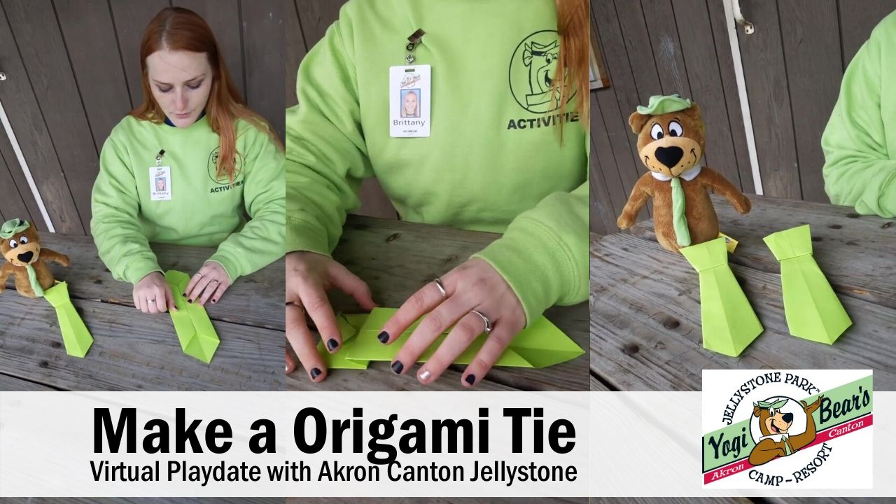 How to Make an Origami Tie Video Cover