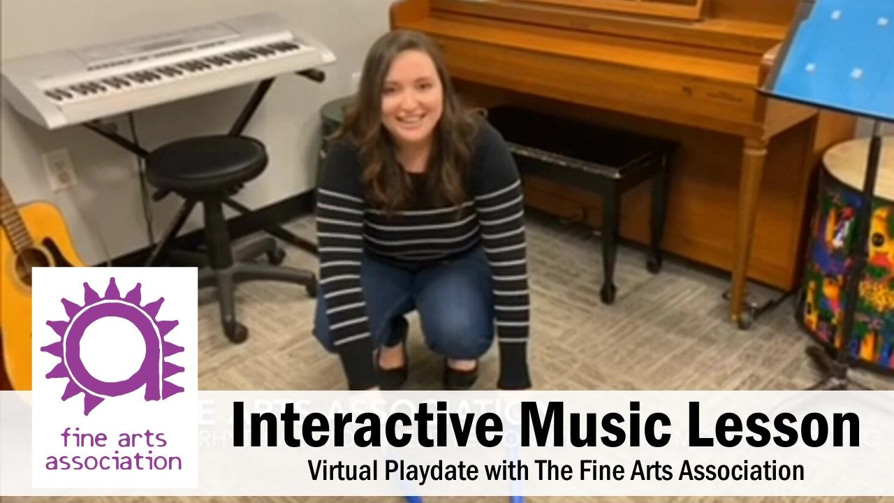 Interactive Music Lesson for Kids at Home - Fine Arts Association
