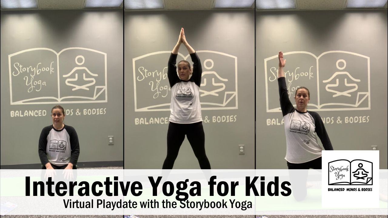 Interactive Storybook Yoga - Virtual Playdate