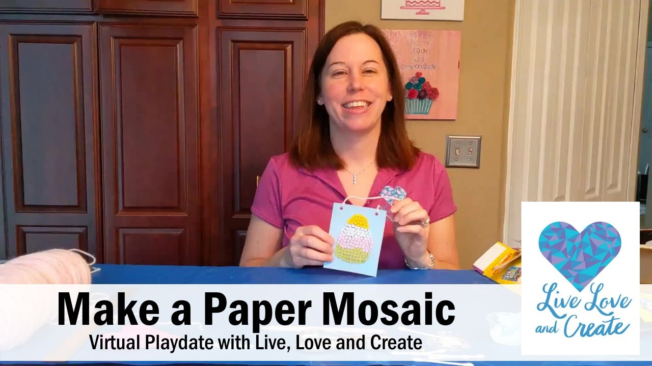 Make a Paper Mosaic Craft