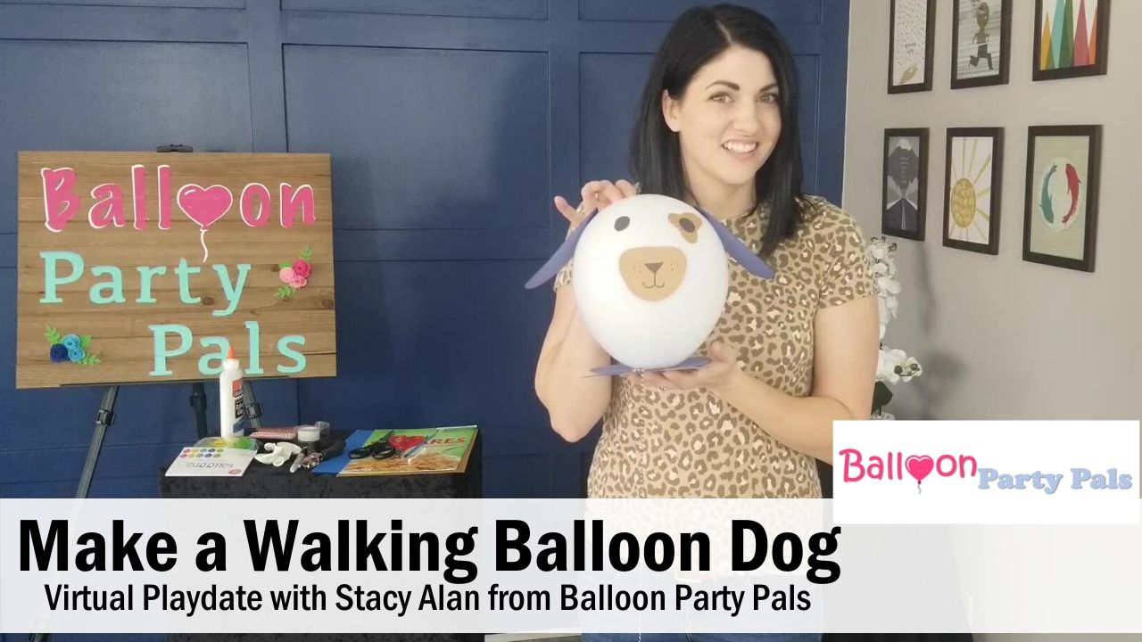 How to Make a Walking Balloon Dog