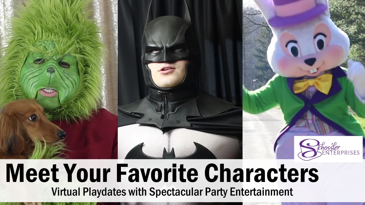 Meet Your Favorite Characters - Virtual Playdates with Spectacular Party Entertainment