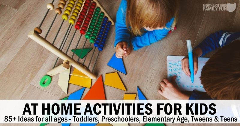 Ultimate List of Activities for Kids at Home
