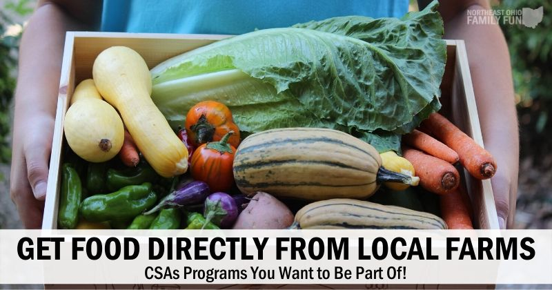 CSAs in Northeast Ohio – Get Fresh Food Directly from Local Farms
