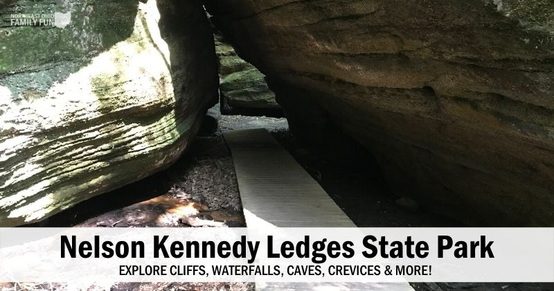 Nelson Kennedy Ledges State Park – Explore Cliffs, Waterfalls, Caves & More!