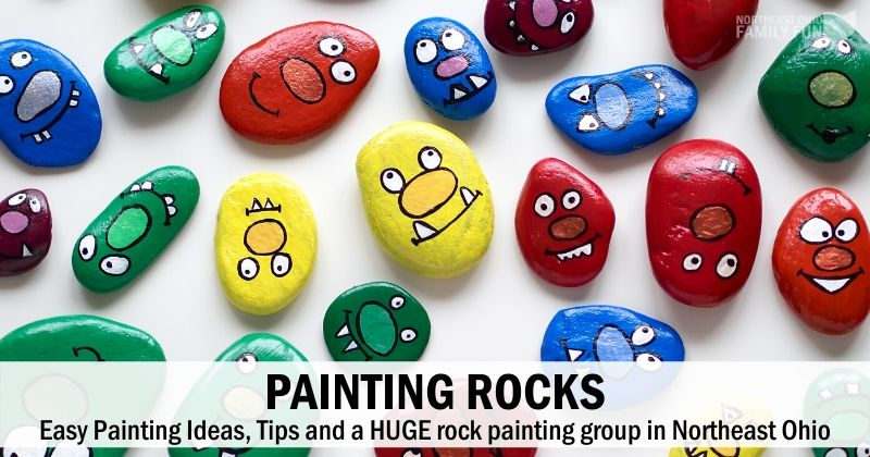 Painting Rocks: Easy Rock Painting Ideas, Tips & a Local Rock Painting Group