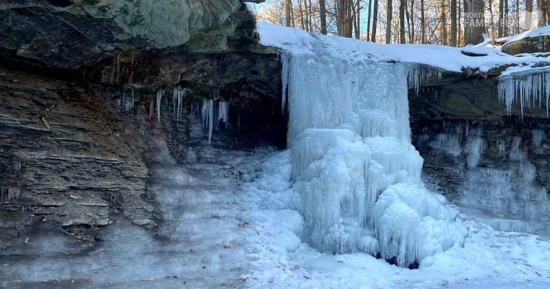 Best Things to do in February in Ohio – Frozen Waterfalls, Outdoor Activities & Winter Fun
